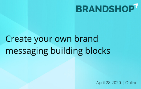 Create your own brand messaging building blocks