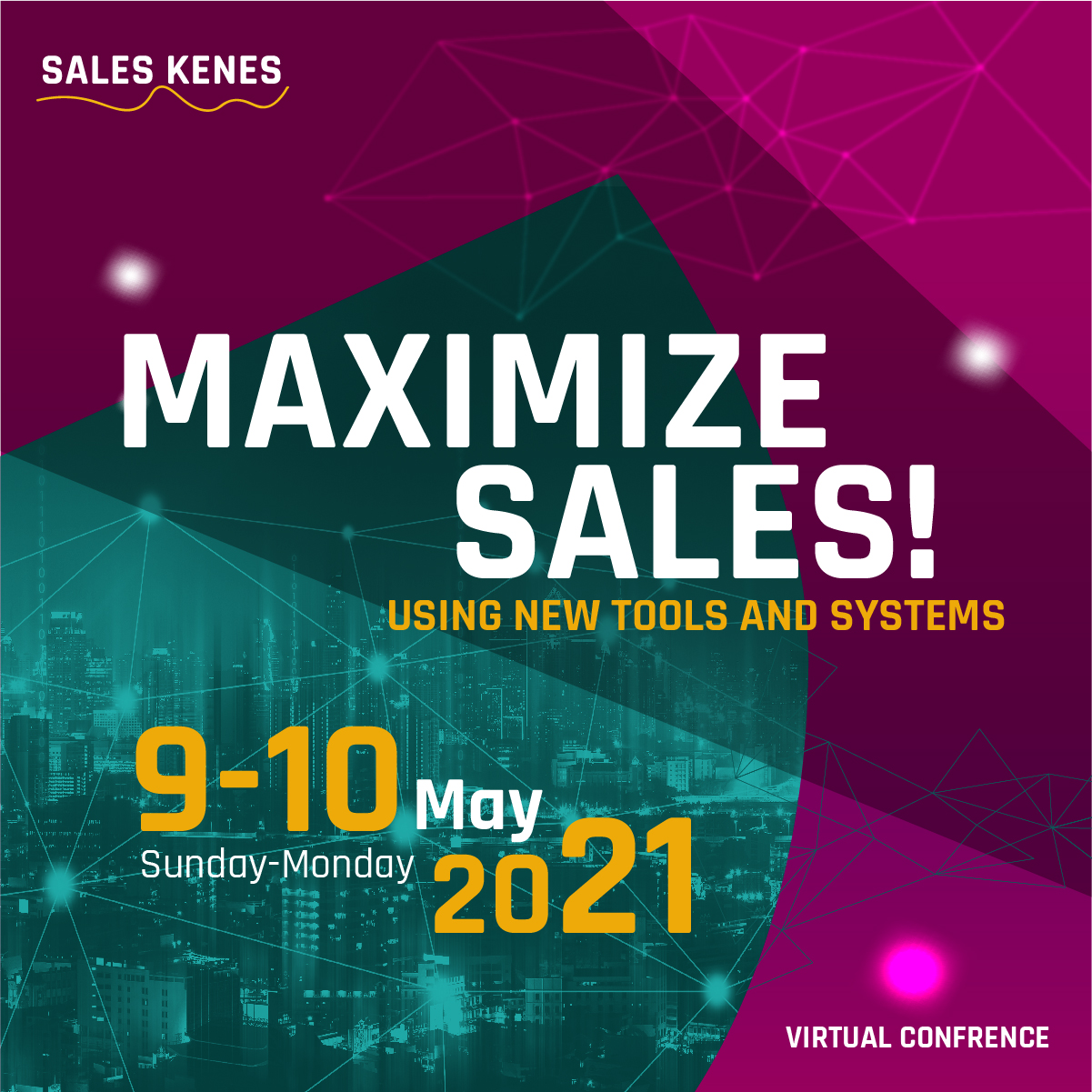 MAXIMIZE SALES! Using new tools and systems